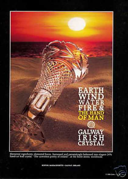 Ireland Galway Irish Crystal Photo (1988)