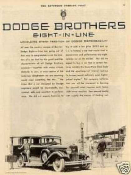 Dodge Brothers Eight-in-line Car (1930)