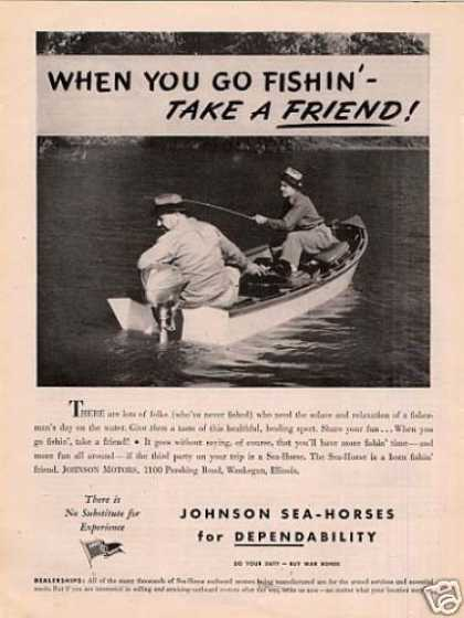 Johnson Sea-horse Outboard Motor (1944)
