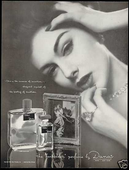 Dana Tabu Perfume Cologne Pretty Woman (1954)