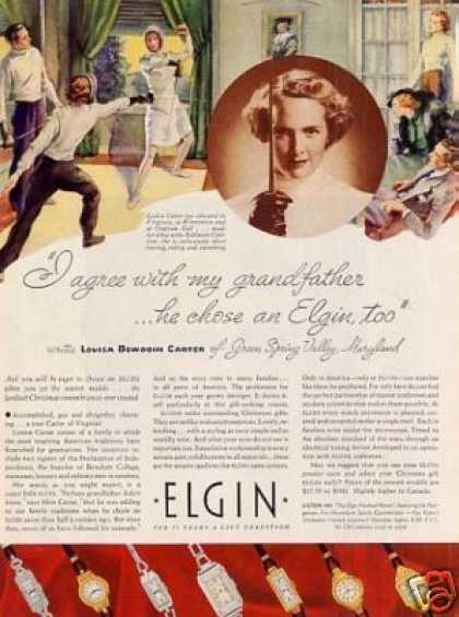 Elgin Watches (1936)