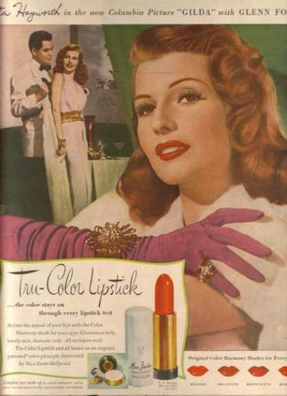 Max Factor Hollywood &#8211; Rita Hayworth (1946)