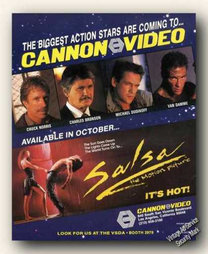 Salsa the Motion Picture Cannon Videos Promo (1988)