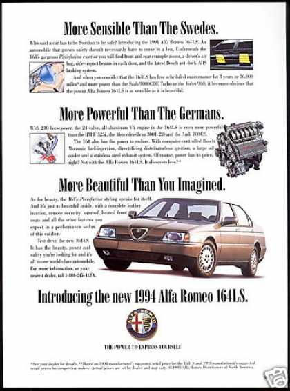 Alfa Romeo 164-LS 164LS Car Photo (1994)