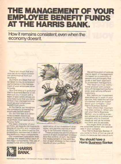Harris Bank – Employee Benefit Funds (1977)