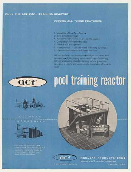 ACF Nuclear Products Pool Training Reactor (1958)
