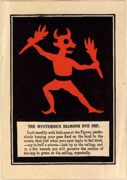 Richardson & Co.'s dyes – The Mysterious Diamond Eye Imp