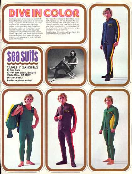 Sea Suits Scuba Diving Suits T (1979)