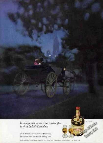 Horse Drawn Carriage Central Park Nyc Drambuie (1963)