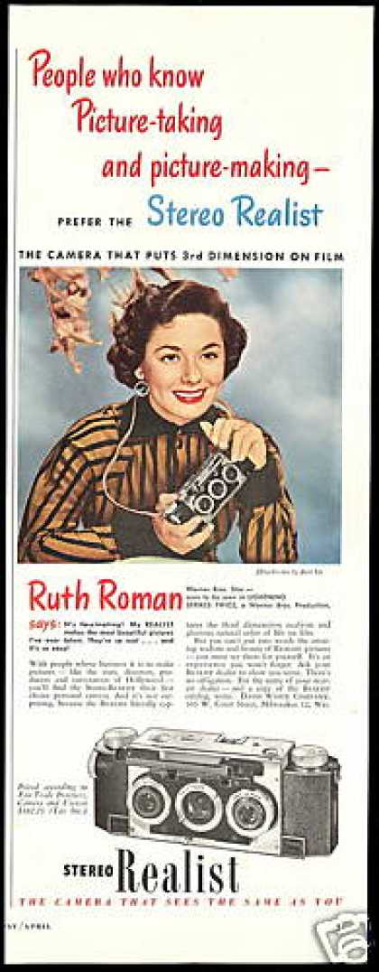 Ruth Roman Photo Realist Stereo Camera (1951)