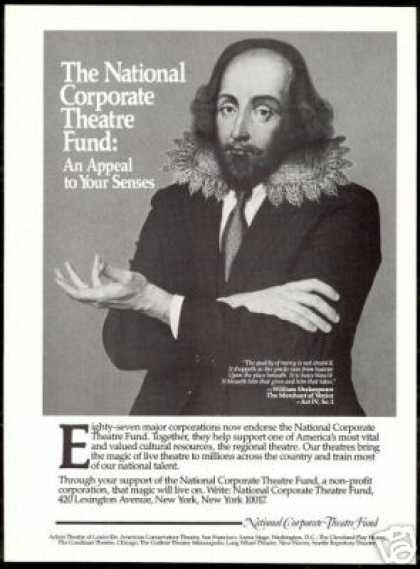 William Shakespeare National Corp Theatre Fund (1986)