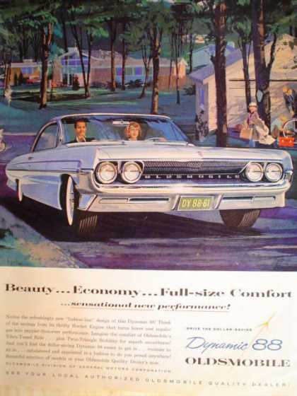 Oldsmobile 88 & Early Times Bourbon (1961)
