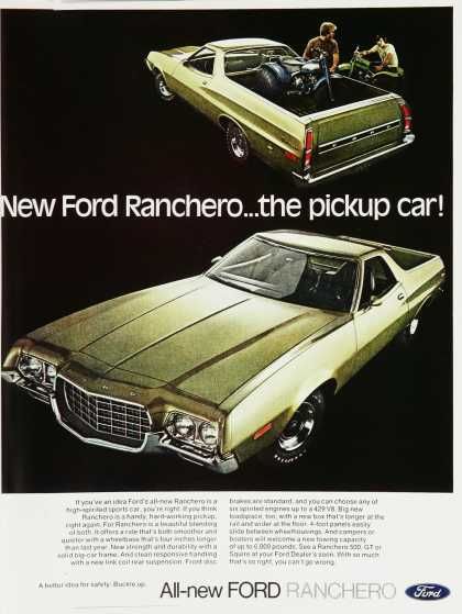 New Ford Ranchero