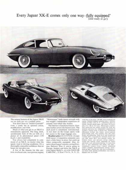 Jaguar Xk-e Roadster Coupe (1963)