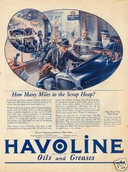 Havoline Oil Color (1923)