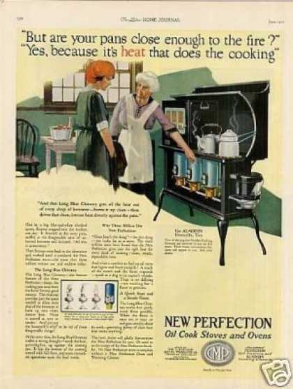 New Perfection Oil Stove Color (1921)