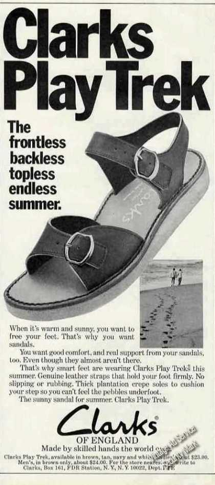 Clarks Play Trek Sandals Clarks of England (1975)