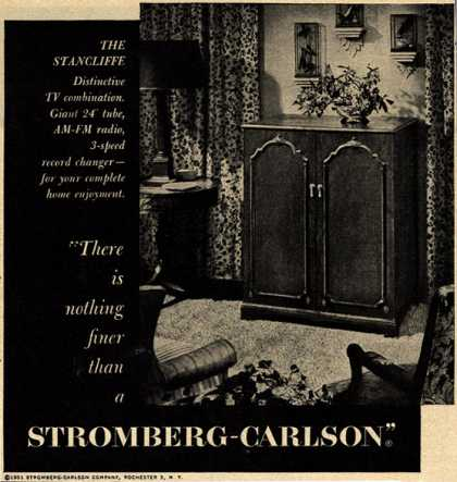 "Stromberg-Carlson Company's The Stancliffe – ""There is nothing finer than a Stromberg-Carlson"" (1951)"