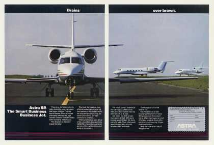 '90 Astra SP Business Jet Photo Brains Over Brawn 2P (1990)