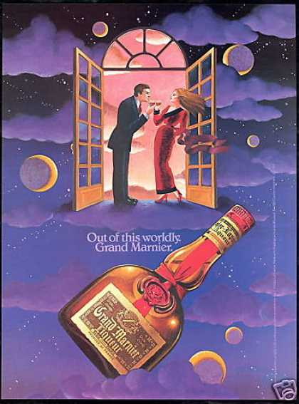 Grand Marnier Liqueur Out of This Worldly (1984)