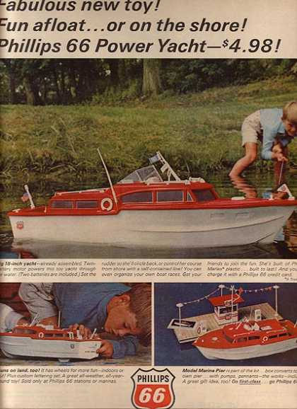 Phillips 66's Power Yacht toy (1965)