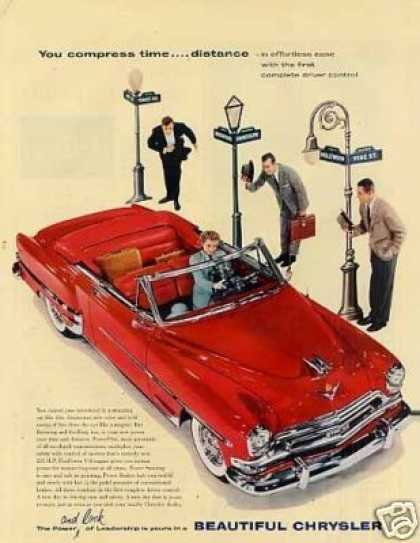Chrysler Convertible Car (1954)