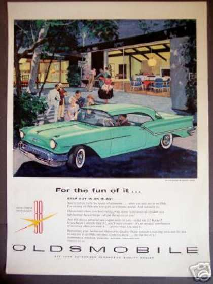 Oldsmobile 88 Holiday Coupe Car (1957)