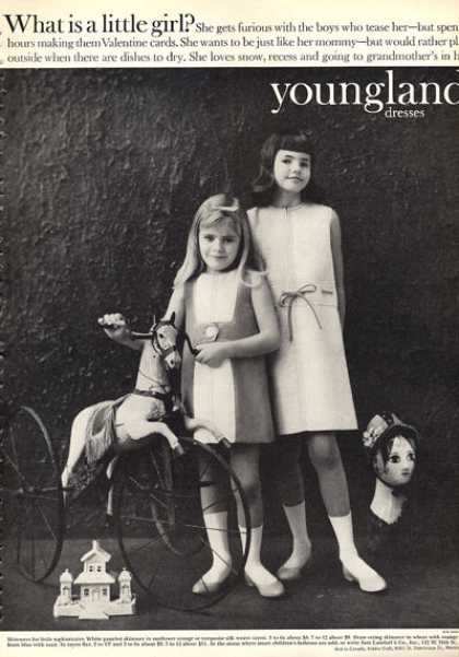 Youngland Fashion Girl Dresses Skimmers (1963)