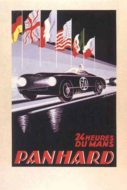 Panhard 24 Heures Du Mans by G. Kow
