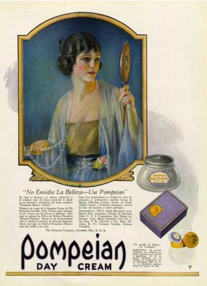 Pompeian Day Cream, USA (1920)