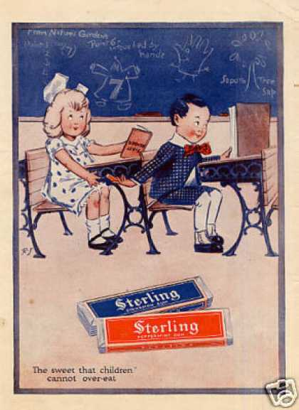 Sterling Gum Color (1916)