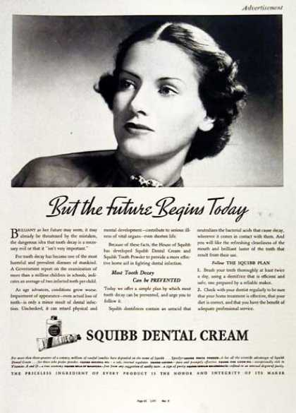 Squibb Dental Cream #2 (1937)