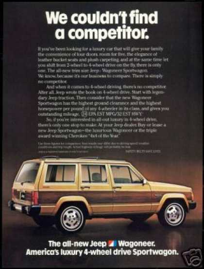 Jeep Wagoneer Photo Vintage (1984)