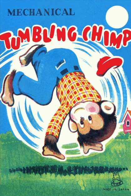 Mechanical Tumbling Chimp