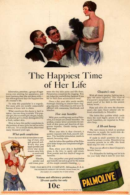 Palmolive Company's Palmolive Soap – The Happiest Time of Her Life (1922)