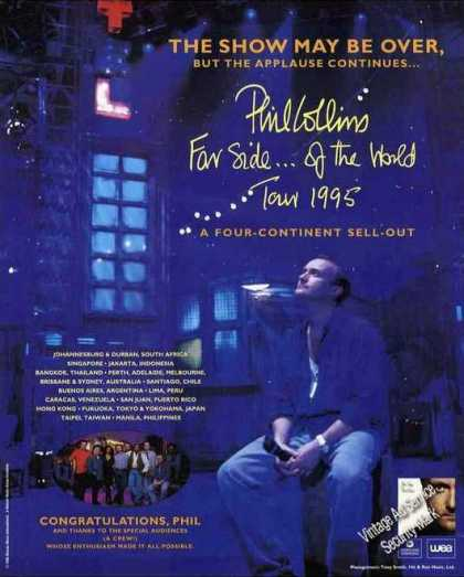 Phil Collins Photo Collectible Music (1995)