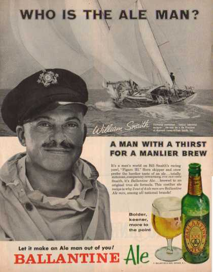 Ballantine Ale – William Snaith – Sold (1962)