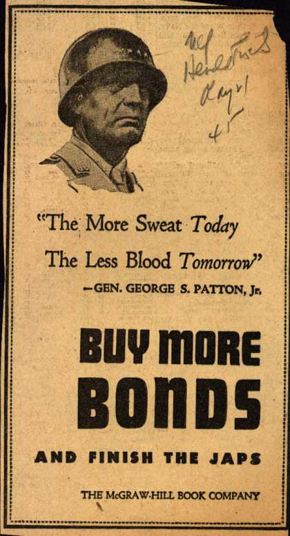 McGraw-Hill Book Company's War Bonds – Buy More Bonds (1945)