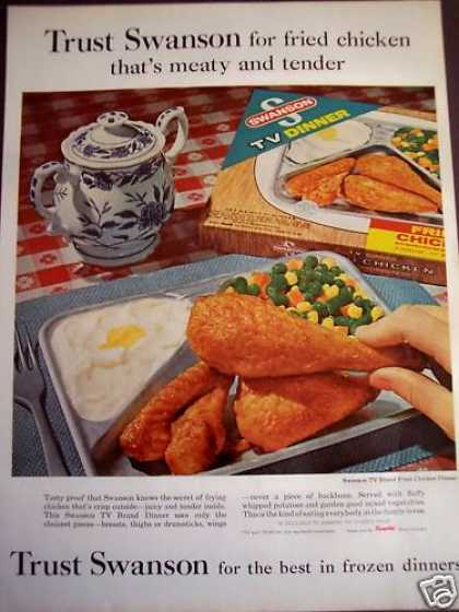 Swanson Tv Dinner Fried Chicken Food (1963)