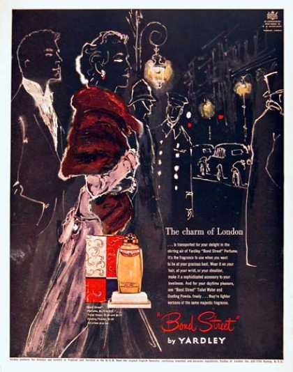 Yardley Bond Street Perfume (1951)