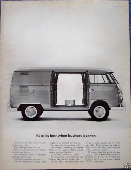 Volkswagen Bus Station Wagon Box Business Rotten (1964)