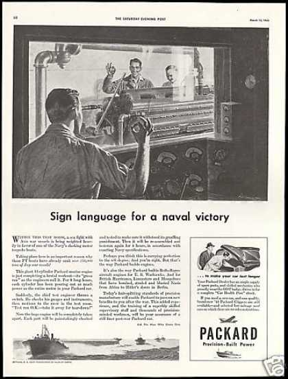 U.S Navy PT Boats Packard Engine Naval Victory (1943)