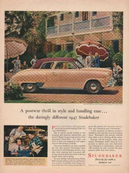 Studebaker Champion Regal De Luxe Car (1946)