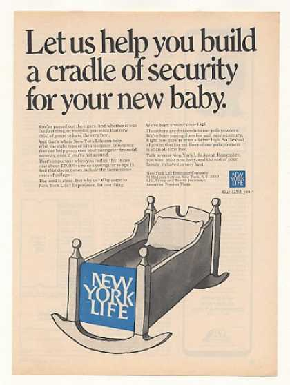 New York Life Insurance Baby Cradle Security (1969)