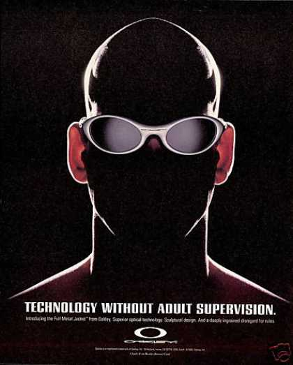 Oakley Sunglasses Superior Technology (1995)