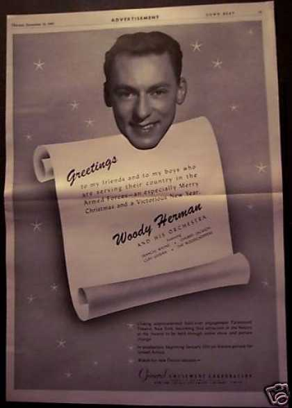 Woody Herman Christmas Music (1943)