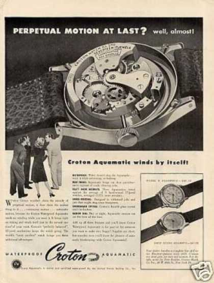 Croton Watches (1946)