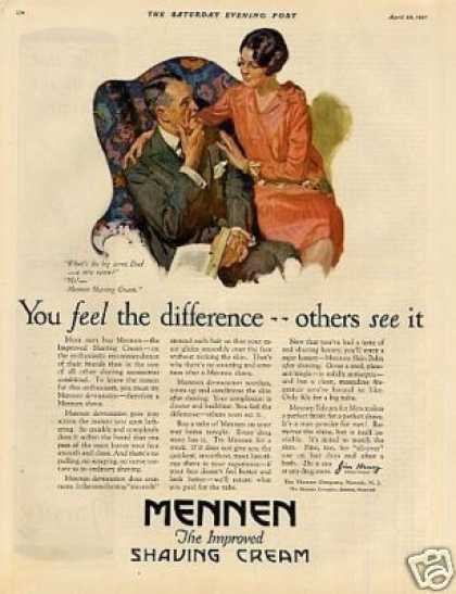 Mennen Shaving Cream Color (1927)