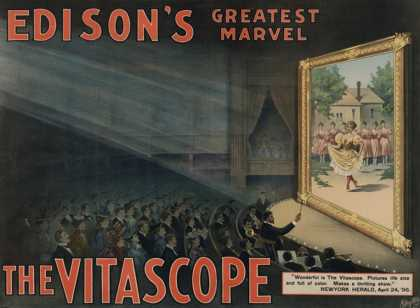 Edison's Greatest Marvel: The Vitascope (1896)