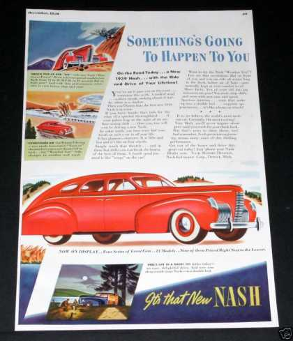 Nash Auto, It's That New Nash (1938)